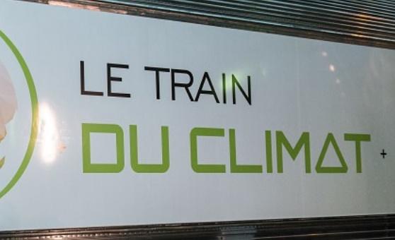 """Le """"Train du climat"""" fait escale à Meknès"""