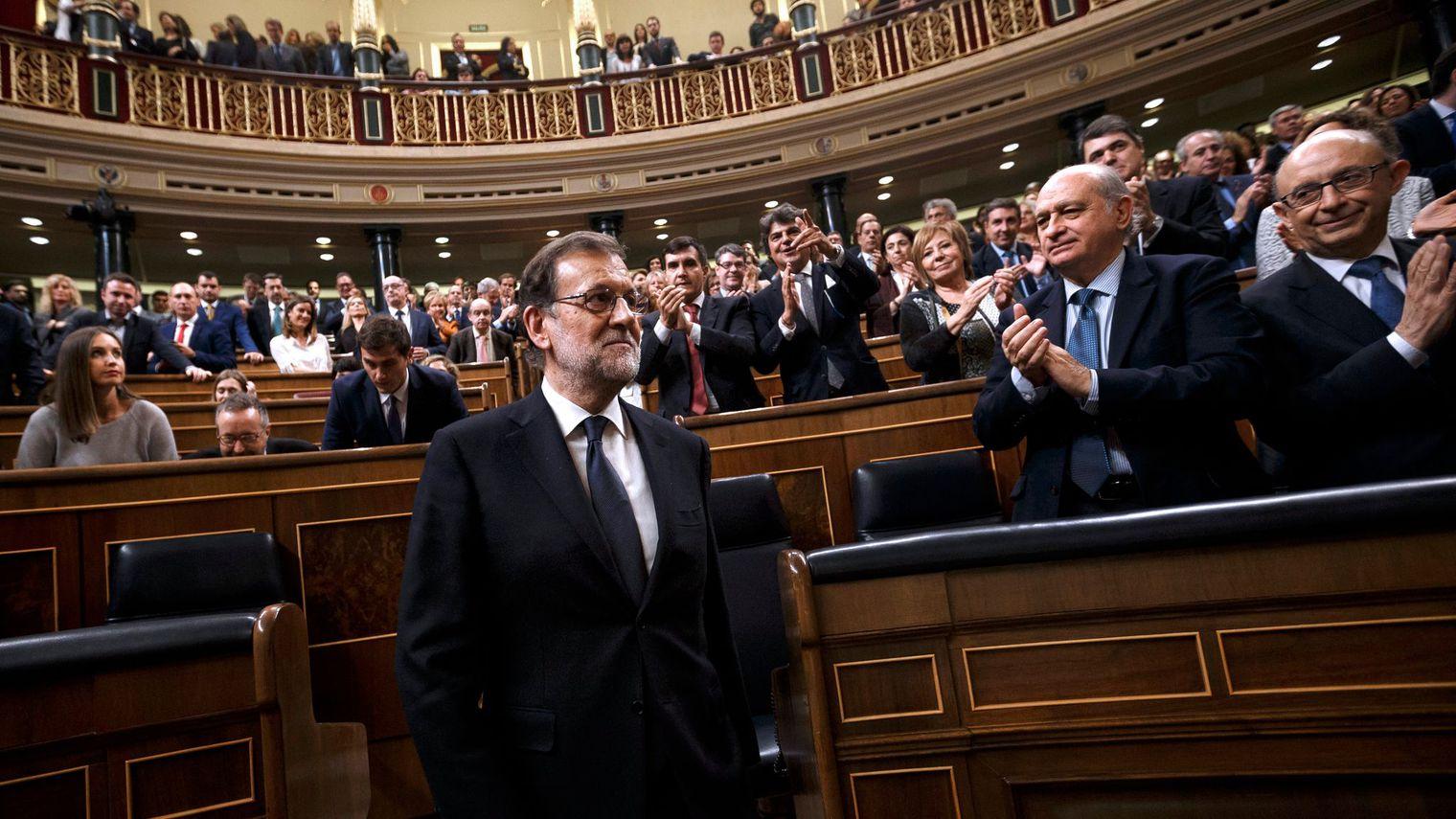 Rajoy reconduit après dix mois de paralysie politique