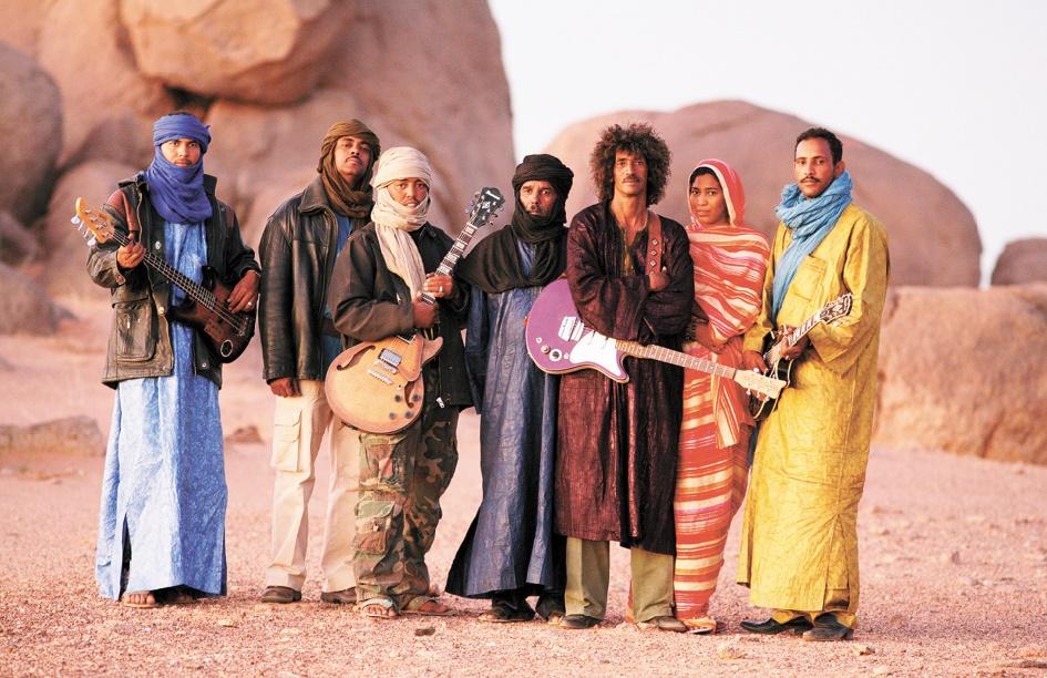 Un concert show des Tinariwen