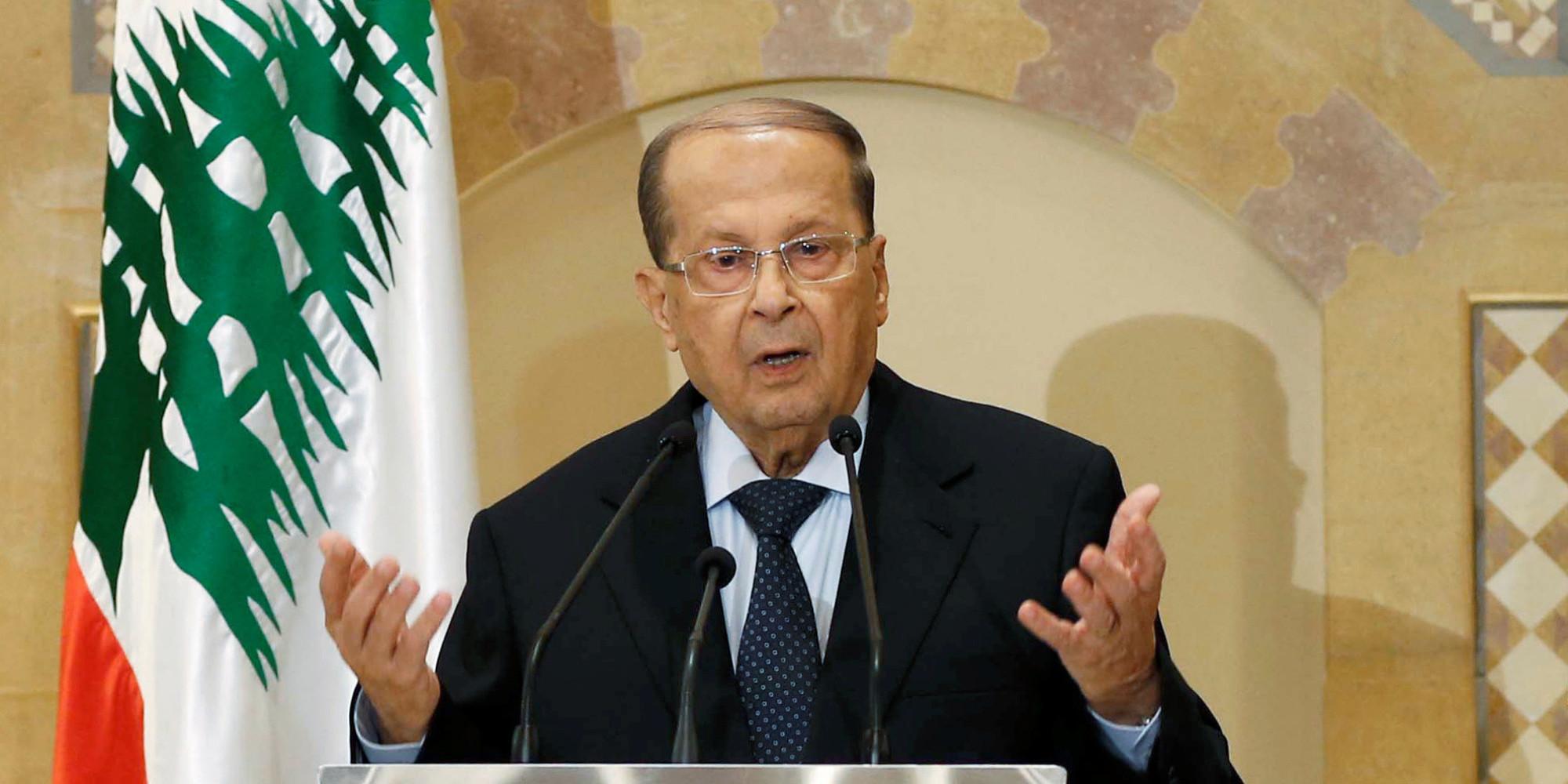 Michel Aoun devient  président du Liban