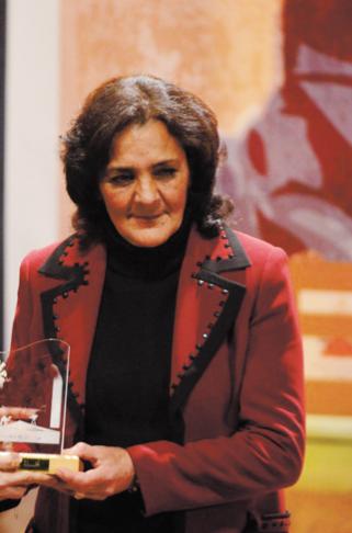 L'actrice Raouia  sacrée  aux JCC