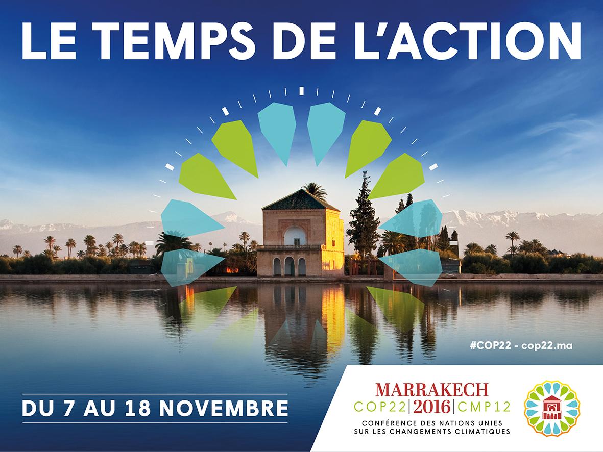 Ouverture de la COP22à Marrakech  La Conférence s'inscrit dans le sillage de celle de Paris