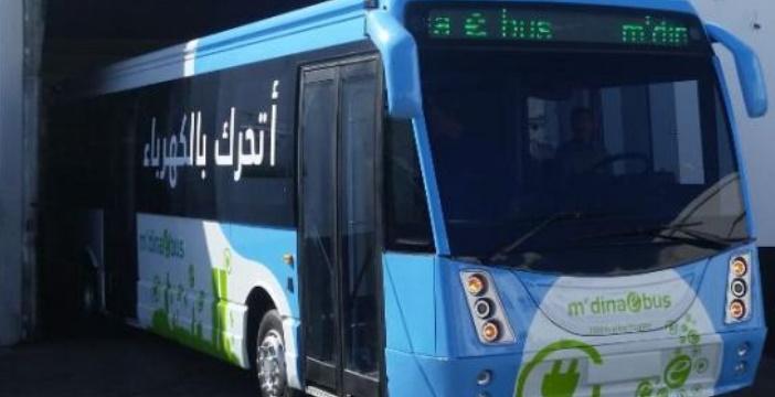 M'dina Bus dévoile son prototype de bus 100% électrique