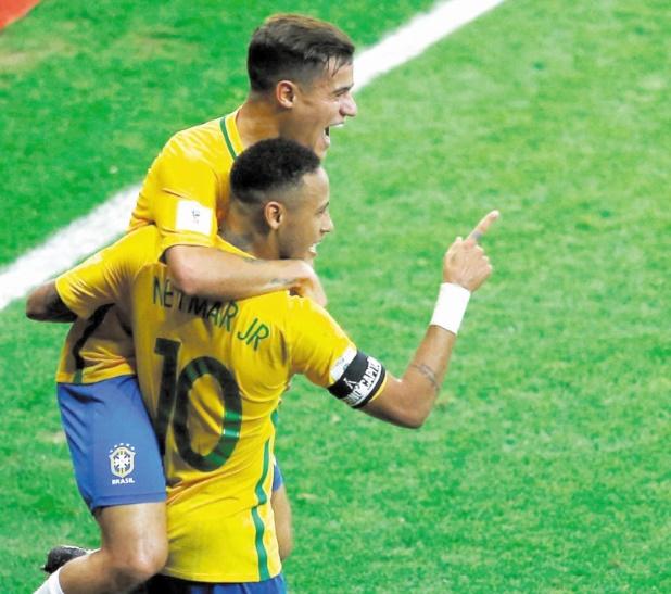 Le Brésil taille en pièces l'Argentine