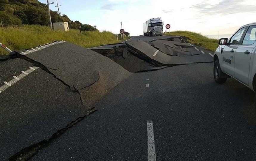 Un violent séisme fait deux morts en Nouvelle-Zélande