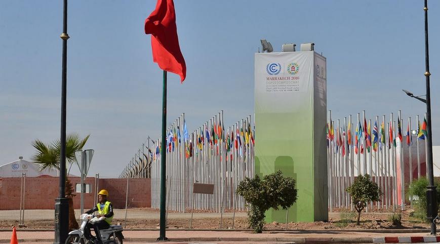 S.M Mohammed VI et Ban-Ki-moon président le Sommet de la COP22
