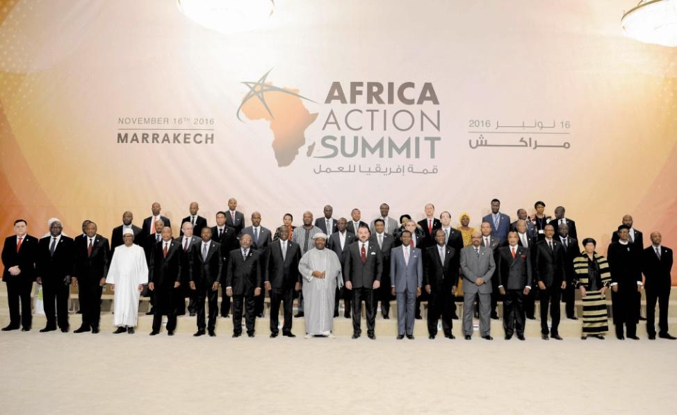 Dans le discours prononcé à l'ouverture du Sommet africain de l'action : S.M le Roi : Il nous appartient de travailler solidairement à la protection de notre terre