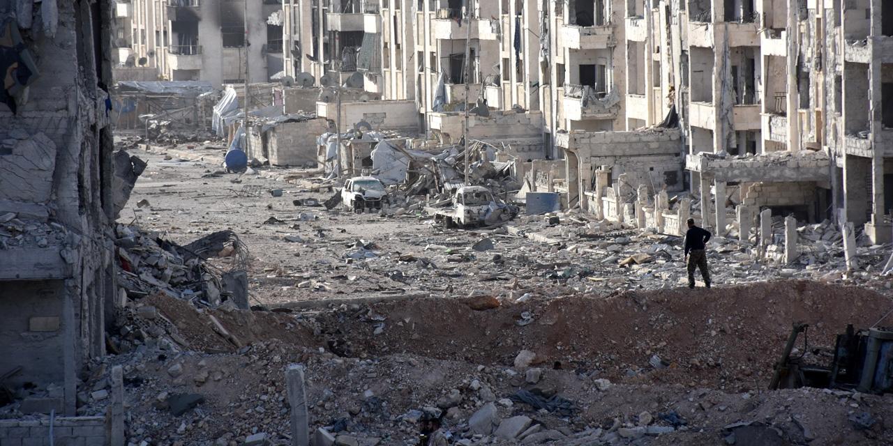 Poursuite des frappes  du régime à Alep