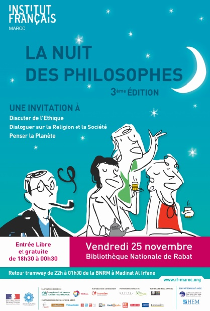 Casablanca et Rabat abritent les Nuits des philosophes