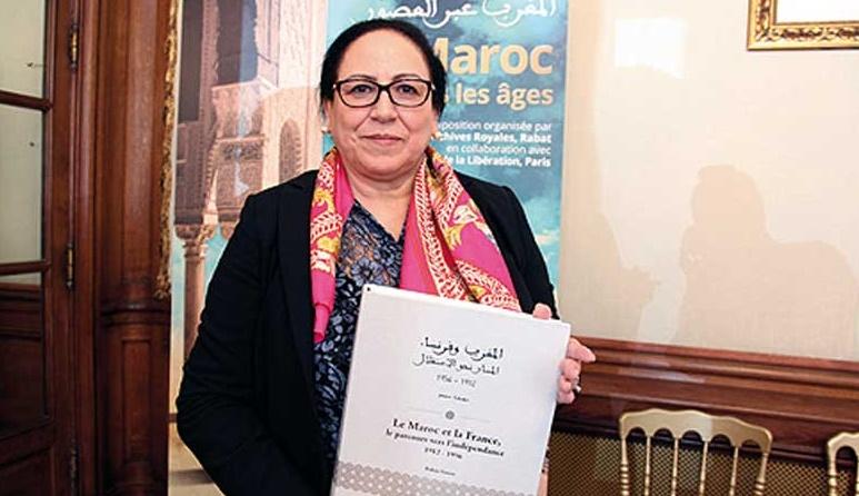 Bahija Simou présente son dernier ouvrage à Paris