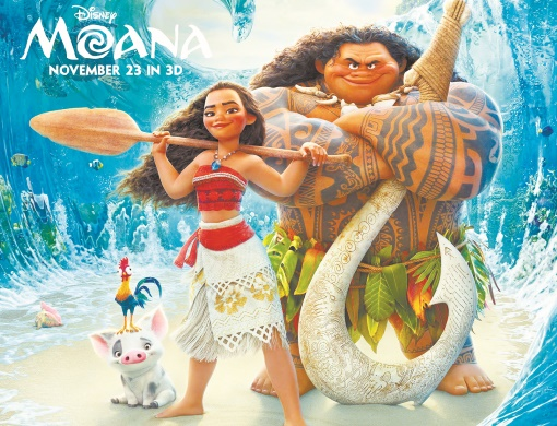 L'intrépide Vaiana vogue au sommet du box-office