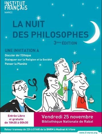 Brillante réussite de la Nuit des philosophes