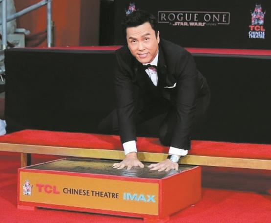 Donnie Yen récompensé à Hollywood