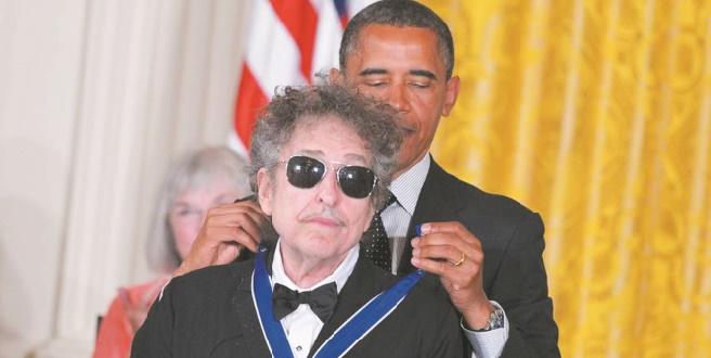Bob Dylan boude Barack Obama