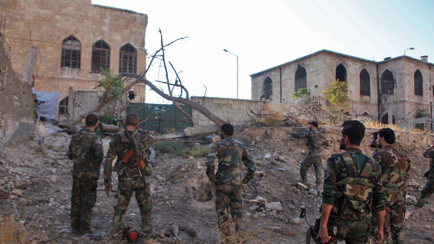 Le régime syrien continue de progresser dans l'est d'Alep