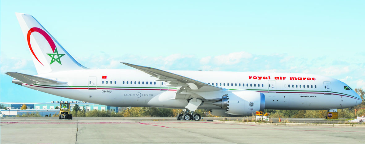 Royal Air Maroc réceptionne son 5ème B.787 Dreamliner