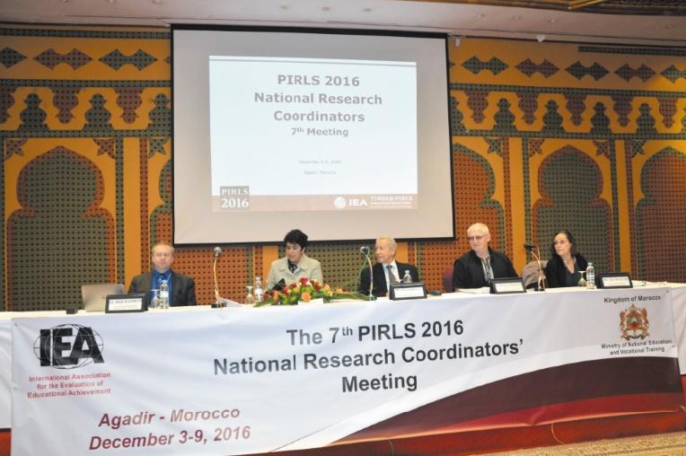 Rencontre nationale sur l'évaluation des habiletés en lecture scolaire à Agadir