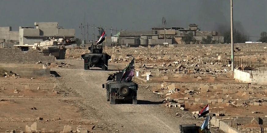 Percée des forces irakiennes à Mossoul