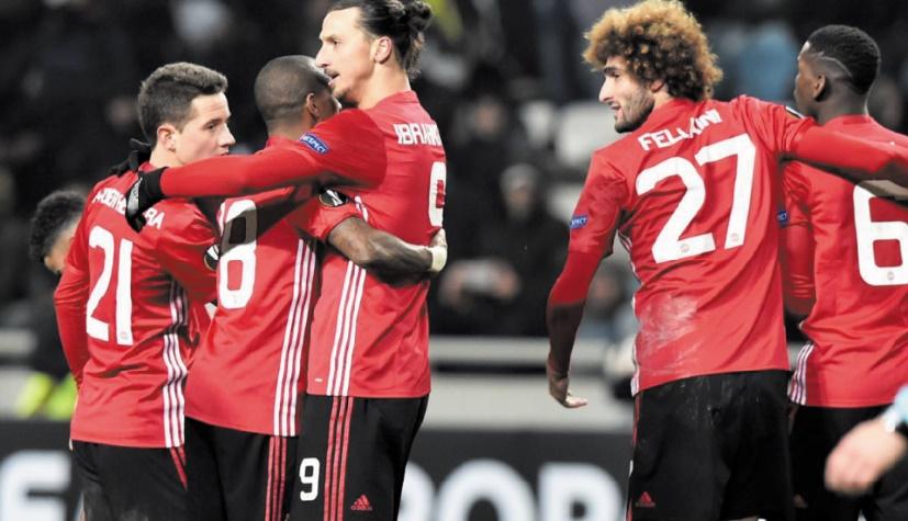 Europa League : Manchester United passe par la petite porte
