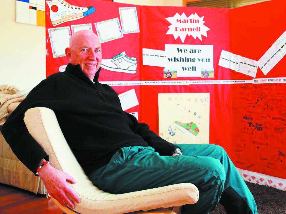 Martin Parnell, l'ultra-marathonien qui empile les records pour la bonne cause