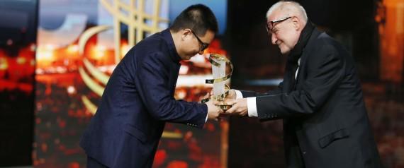 Zang Qiwu,  grand  gagnant  du 16ème FIFM
