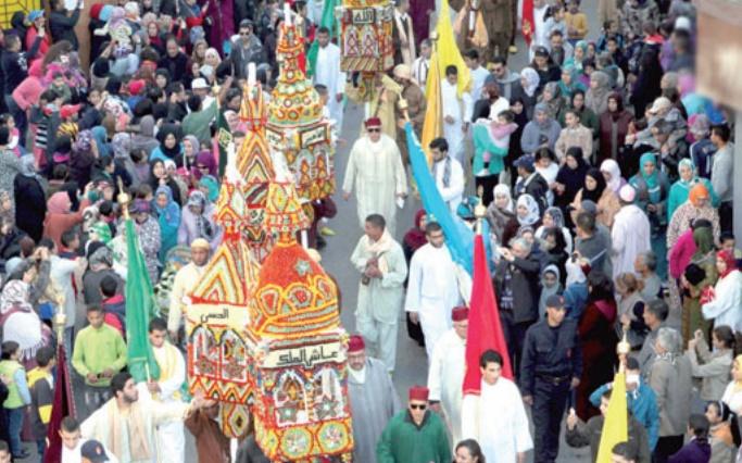 Le Moussem des cierges à Salé, des festivités en commémoration de l'Aid Al Mawlid Annabaoui Acharif
