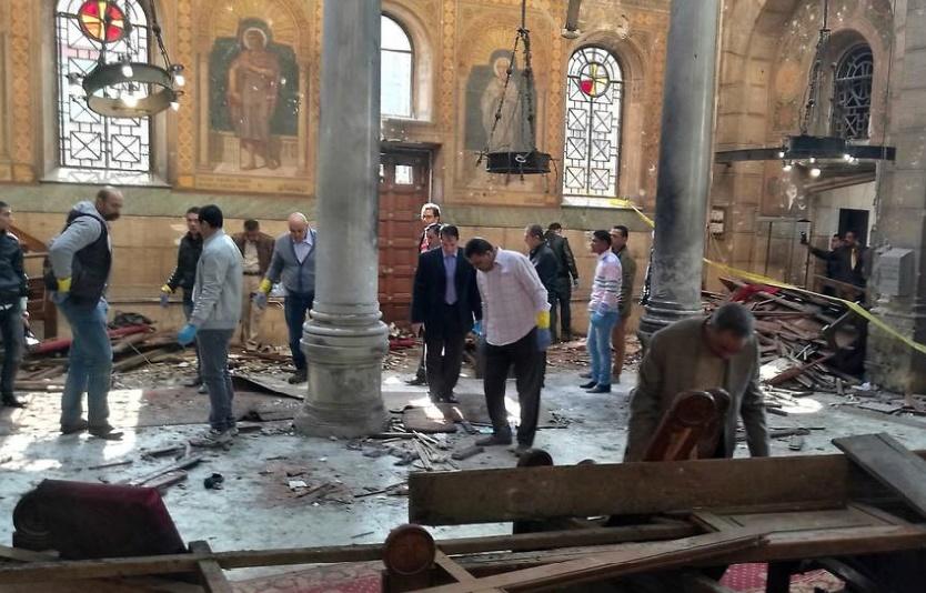 Quatre suspects arrêtés après l'attentat sanglant dans une église du Caire