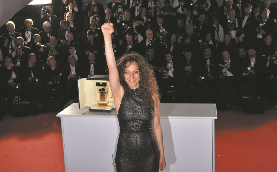 Houda Benyamina en course pour le Golden Globes du meilleur film étranger