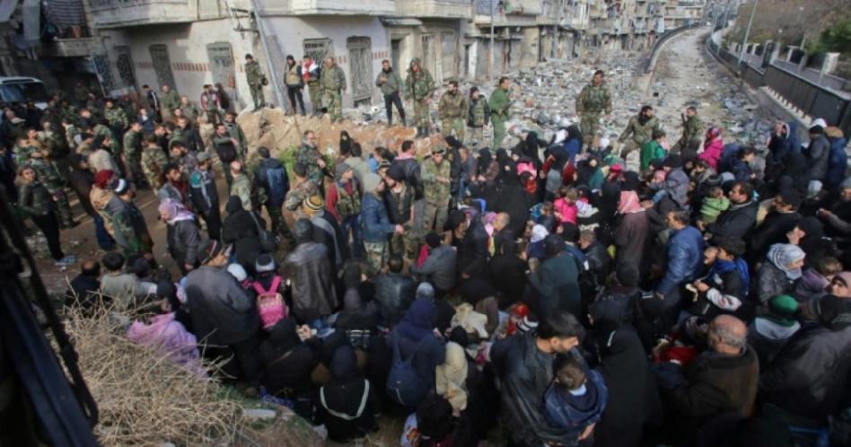 Le régime syrien suspend les opérations d'évacuation d'Alep