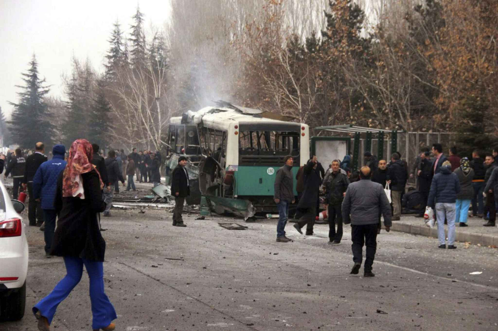 Attentat-suicide dans le centre de la Turquie