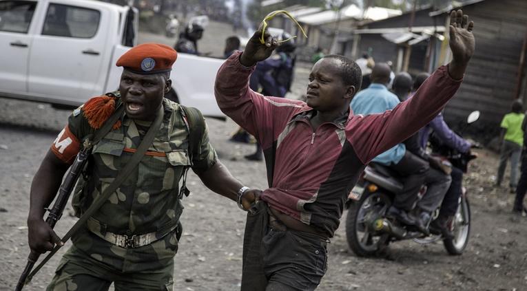 Bouclage et arrestations à Lubumbashi