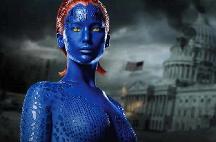 Jennifer Lawrence tentée par Mystique