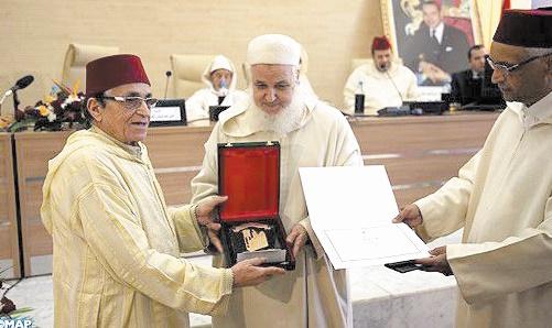 Remise des prix du Conseil supérieur des oulémas des prêches du vendredi à Rabat