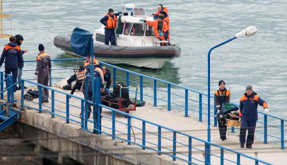 L'acte terroriste écarté dans le crash en Russie