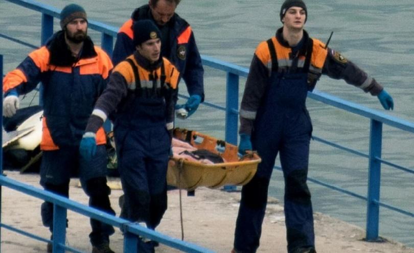 Une boîte noire de l'avion russe retrouvée en mer Noire