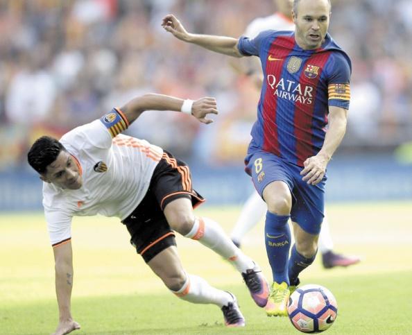 Iniesta : Mon vœu est de continuer avec le Barça