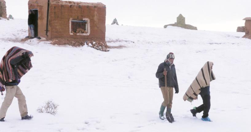 Vagues de froid et zones enclavées des montagnes