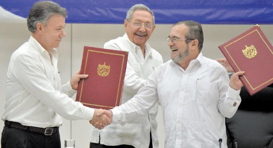 Accord de paix historique en Colombie