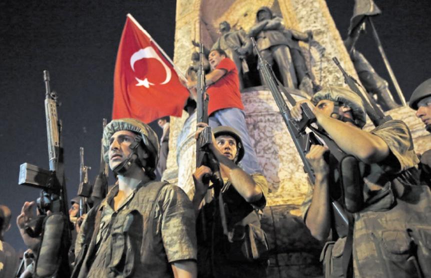 La Turquie secouée par une tentative de coup d'Etat