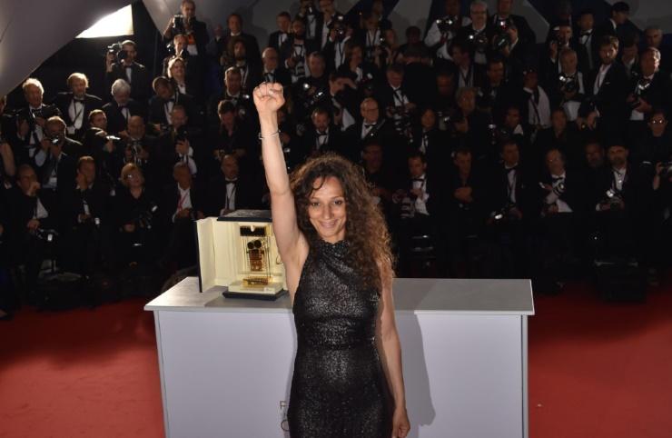 Houda Benyamina  s'adjuje la Caméra d'or à Cannes