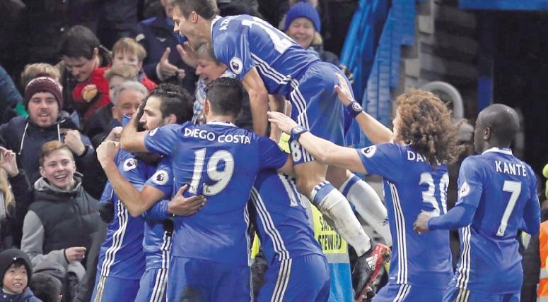 Treize victoires de rang pour Chelsea