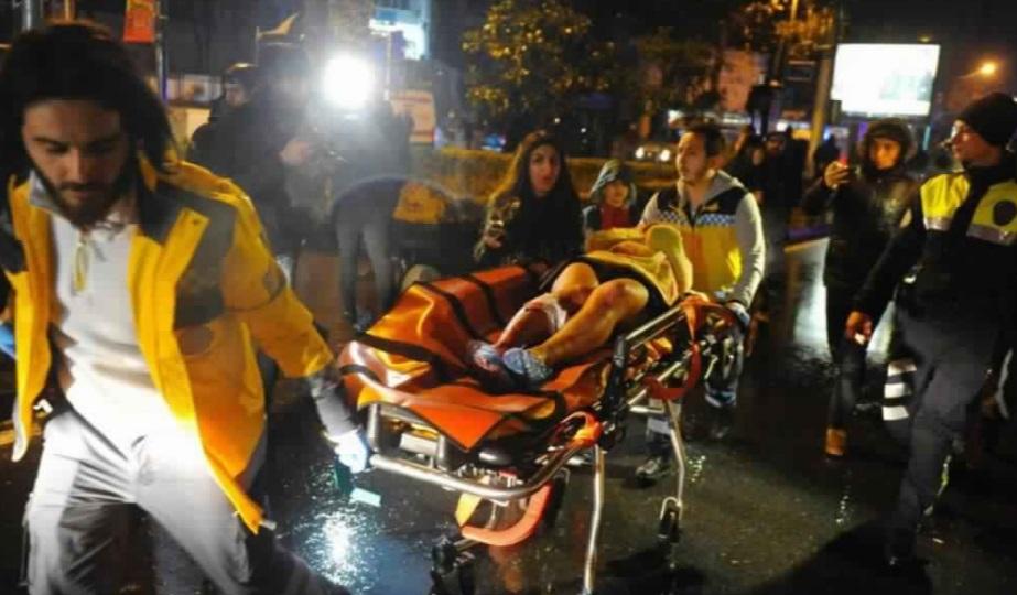 Attentat  meurtrier dans  une discothèque à Istanbul