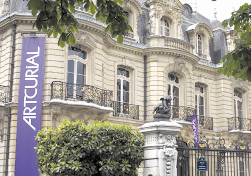 Enchères d'œuvres d'art réalisées à Paris en duplex avec Marrakech
