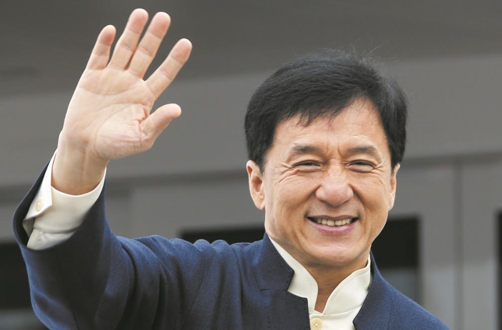 Jackie Chan en tournage au Maroc