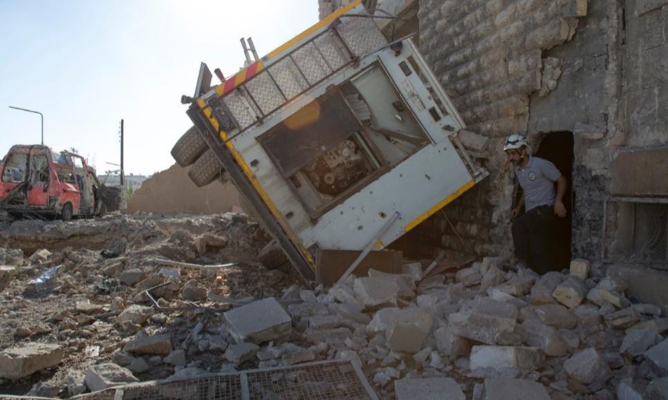Poursuite des bombardements près de Damas malgré la trêve