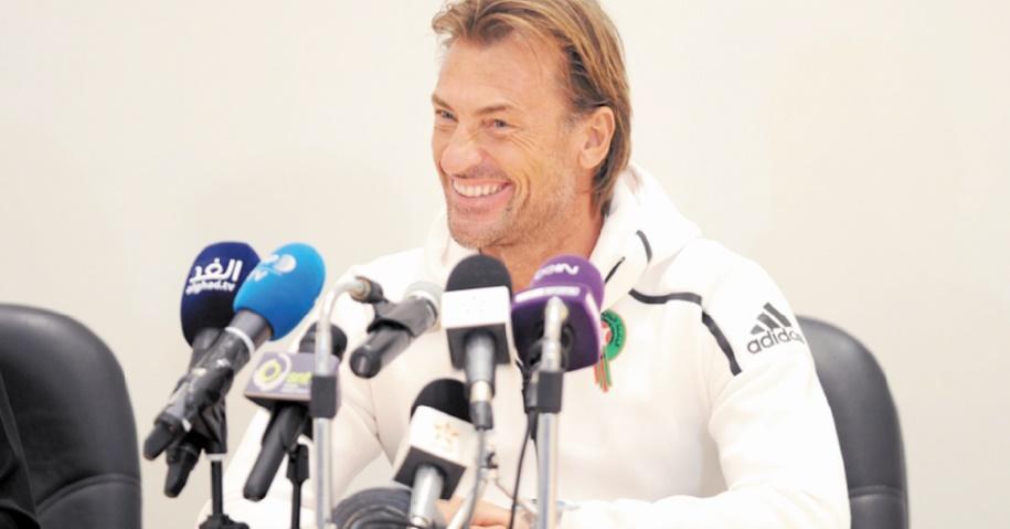 Hervé Renard : Obtenir de meilleurs résultats en fonction de nos capacités et de nos compétences