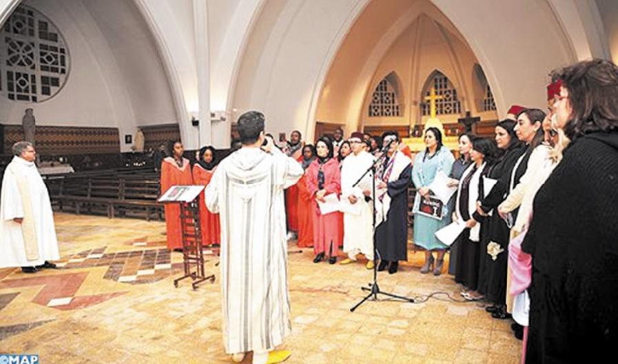 """La """"Galette de la fraternité"""" réunit musulmans, juifs et chrétiens à Mohammédia"""