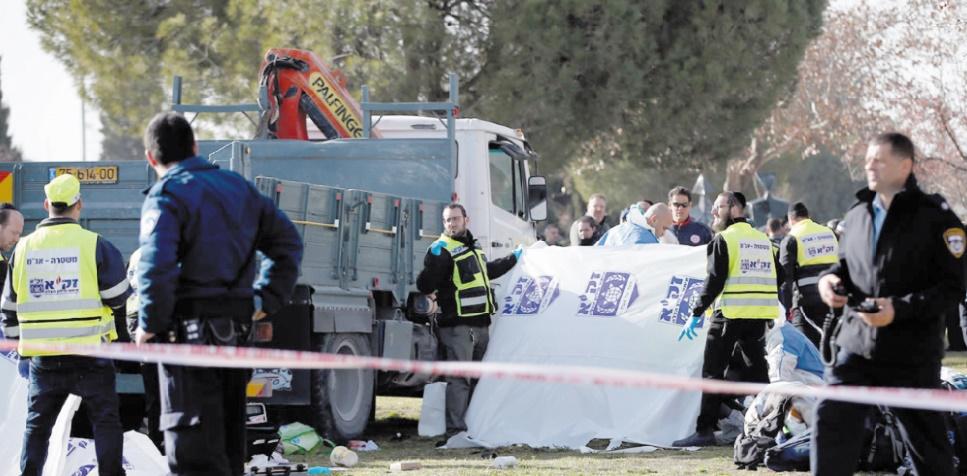 Quatre morts dans une attaque au camion bélier à Al-Qods