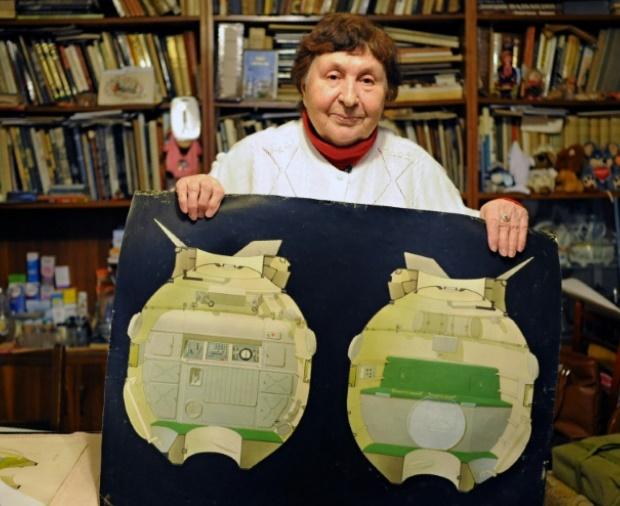 Galina Balachova, l'artiste cachée du programme spatial soviétique
