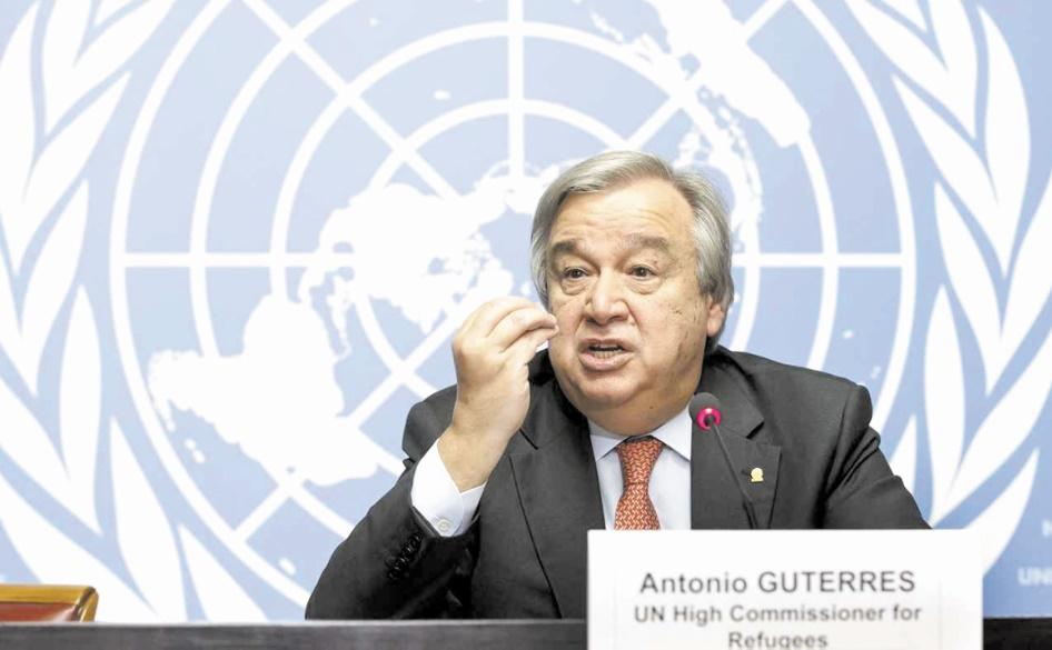 Le nouveau chef de l'ONU prône une toute nouvelle approche pour la paix